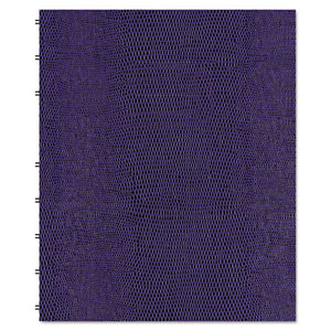 ESREDAF915086 - Miraclebind Notebook, College-margin, 9 1-4 X 7 1-4, Purple Cover, 75 Sheets