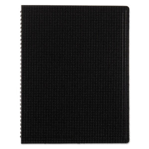 ESREDB4181 - Poly Cover Notebook, 11 X 8 1-2, Ruled, Twin Wire Bound, Black Cover, 80 Sheets
