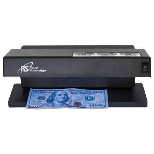 "ESRSIRCD1000 - ULTRAVIOLET COUNTERFEIT DETECTOR, U.S. CURRENCY, 10.6"" X 4.7"" X 4.7"", BLACK"