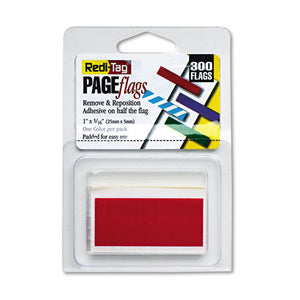 ESRTG20022 - Removable-reusable Page Flags, Red, 300-pack