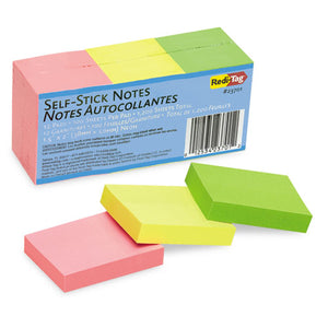 ESRTG23701 - Self-Stick Notes, 1 1-2 X 2, Neon, 12 100-Sheet Pads-pack