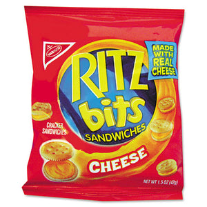 ESRTZ06834 - Ritz Bits, Cheese, 1.5oz Packs, 60-carton