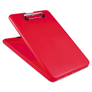 "ESSAU00560 - Slimmate Storage Clipboard, 1-2"" Clip Cap, 8 1-2 X 11 Sheets, Red"