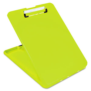 "ESSAU00573 - Slimmate Storage Clipboard, 1-2"" Clip Cap, 8 1-2 X 11 Sheets, Hi-Vis Yellow"