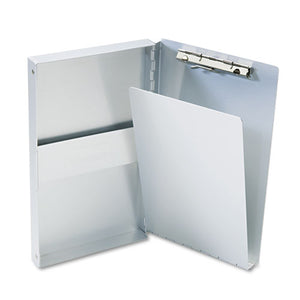 "ESSAU10507 - Snapak Aluminum Side-Open Forms Folder, 3-8"" Clip, 5 2-3 X 9 1-2 Sheets, Silver"