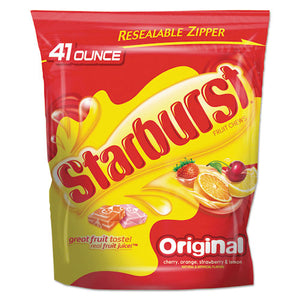 ESSBR22649 - STARBURST, FRUIT CHEWS CANDY, 2LBS 9 OZ BAG, ORIGINAL