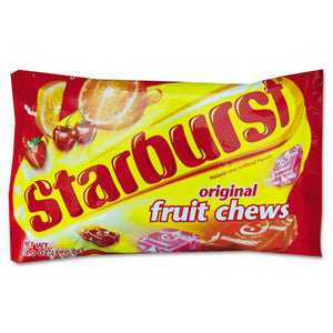 ESSBR24947 - STARBURST FRUIT CHEWS CANDY, 14 OZ BAG, ORIGINAL