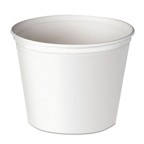ESSCC10T3U - Double Wrapped Paper Bucket, Waxed, White, 165oz, 100-carton