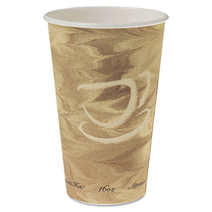 ESSCC316MS - Mistique Hot Paper Cups, 16oz, Brown, 50-sleeve, 20 Sleeves-carton