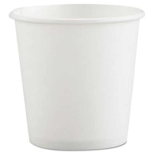 ESSCC374W2050 - Polycoated Hot Paper Cups, 4 Oz, White