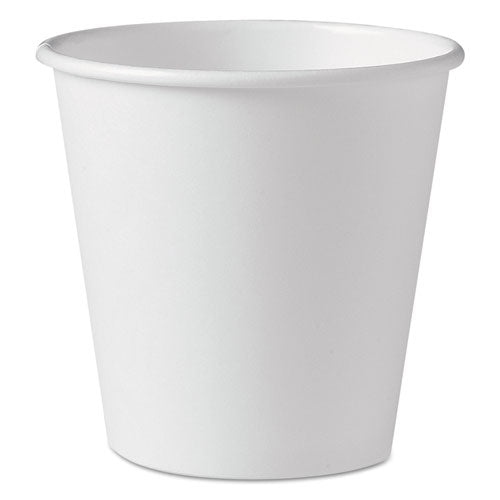 ESSCC410W - Polycoated Hot Paper Cups, 10 Oz, White, 1000-carton