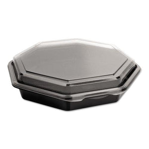 ESSCC864611PS94 - Octaview Cf Containers, Black-clear, 31oz, 9.57w X 9.18d X 1.97h, 100-carton