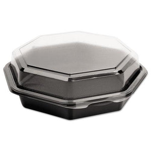 ESSCC865044AP94 - Octaview Cf Containers, Black-clear, 28oz, 7.94w X 7.48d X 3.15h, 100-carton