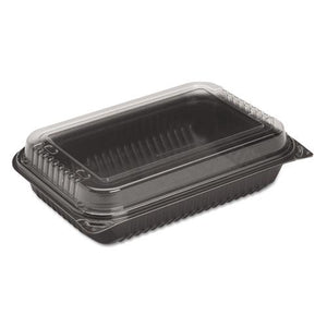 ESSCC919017PM94 - Dinner Box, 1-Comp, Black-clear, 64oz, 11 1-2w X 8.05d X 2.95h, 100-carton