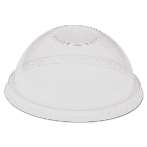 ESSCCLD28CH - Dome-Top Lid, For 28-32oz Cold Cups, Clear, Plastic, 500-carton