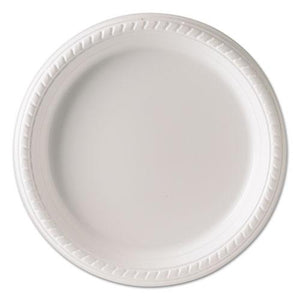 ESSCCPS95W - Plastic Plates, 9 Inches, White, Round, 25-pack, 20 Packs-carton
