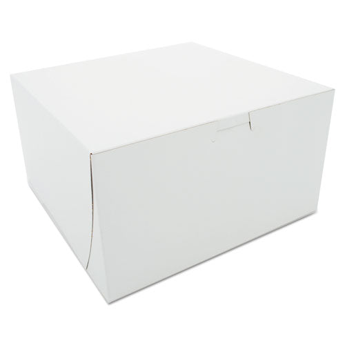 ESSCH0965 - Bakery Boxes, White, Paperboard, 9 X 9 X 5, 100-carton