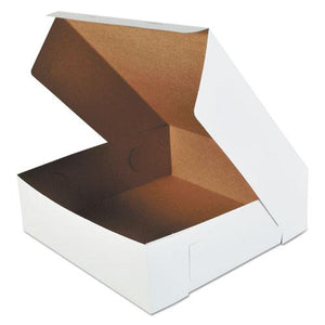 ESSCH0995 - Bakery Boxes, White, Paperboard, 16 X 16 X 5, 50-carton