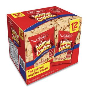 Animal Crackers, 1.5 Oz Bag, 12-box