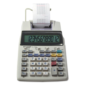 ESSHREL1750V - El-1750v Two-Color Printing Calculator, Black-red Print, 2 Lines-sec