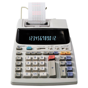 ESSHREL1801V - El-1801v Two-Color Printing Calculator, Black-red Print, 2.1 Lines-sec