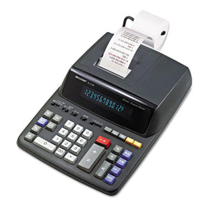 ESSHREL2196BL - El2196bl Two-Color Printing Calculator, Black-red Print, 3.7 Lines-sec