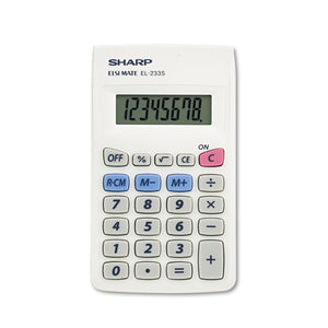 ESSHREL233SB - El233sb Pocket Calculator, 8-Digit Lcd