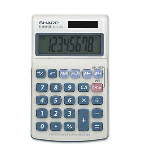 ESSHREL240SAB - El240sb Handheld Business Calculator, 8-Digit Lcd