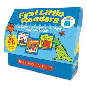 ESSHS522302 - FIRST LITTLE READERS, READING, GRADES PRE K-2, 8 PAGES-BOOK, 20 BOOKS, LEVEL B