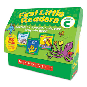 ESSHS522303 - FIRST LITTLE READERS, READING, GRADES PRE K-2, 8 PAGES-BOOK, 20 BOOKS, LEVEL C