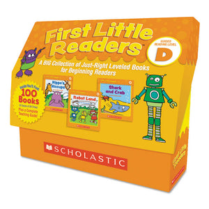 ESSHS811146 - FIRST LITTLE READERS, READING, GRADES PRE K-2, 8 PAGES-BOOK, 5 BOOKS, LEVEL D