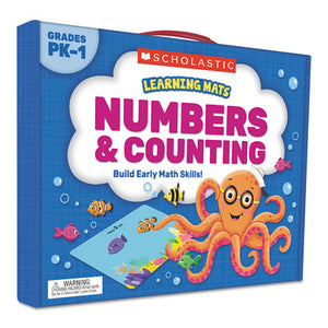 ESSHS823963 - LEARNING MATS KIT, NUMBERS, 70 CARDS, AGES 3 AND UP