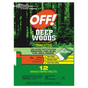 ESSJN611072BX - Deep Woods Towelette, 0.28 Box, Unscented, 12-box