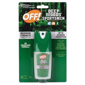 ESSJN611090 - Deep Woods Sportsmen Insect Repellent, 1 Oz Spray Bottle
