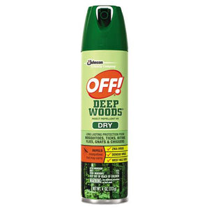 ESSJN616304 - Deep Woods Dry Insect Repellent, 4oz, Aerosol, Neutral, 12-carton