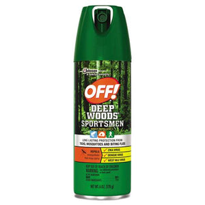 ESSJN629374 - Deep Woods Sportsmen Insect Repellent, 6 Oz Aerosol, 12-carton