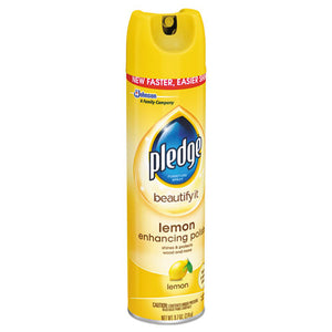 Furniture Polish, Lemon, 9.7 Oz Aerosol