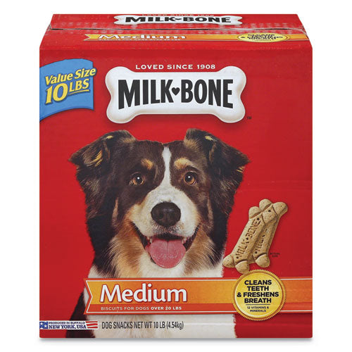 ESSMU092501 - ORIGINAL MEDIUM SIZED DOG BISCUITS, ORIGINAL, 10 LBS, 10-CARTON
