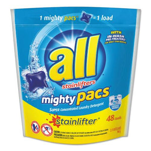 ESSNP197003270 - Mighty Pacs Super Concentrated Laundry Detergent, 48 Pacs