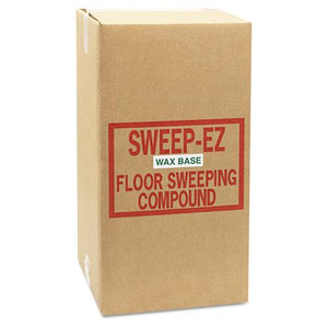 ESSOR50WAX - Wax-Based Sweeping Compound, 50lbs, Box