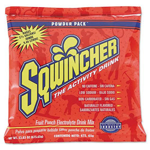 ESSQW016042FP - Powder Pack Concentrated Activity Drink, Fruit Punch, 23.83 Oz Packet, 32-carton