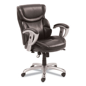 ESSRJ49711BRW - EMERSON TASK CHAIR, 21 1-4W X 19 3-4D X 21 3-4H SEAT, BROWN LEATHER