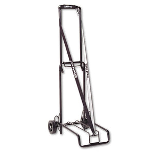 ESSTB390002BLK - Luggage Cart, 125lb Capacity, 13 X 10 Platform, Black Steel