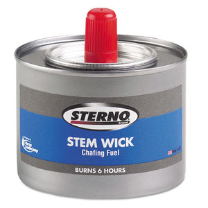 ESSTE10102 - Chafing Fuel Can With Stem Wick, Methanol,1.89g, Six-Hour Burn, 24-carton