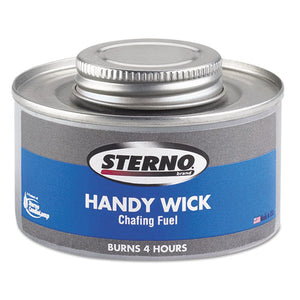 Handy Wick Chafing Fuel, Can, Methanol, Four-hour Burn, 24-carton