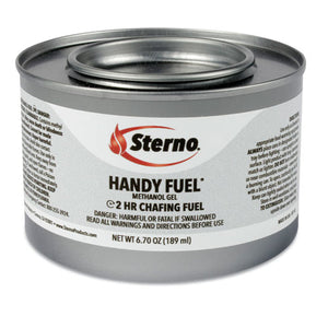 ESSTE20102 - Handy Fuel Methanol Gel Chafing Fuel, 189.9g, Two-Hour Burn, 72-carton