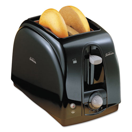 ESSUN39101 - Extra Wide Slot Toaster, 2-Slice, 7 X 11 1-2 X 7.8, Black