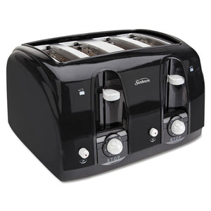 ESSUN39111 - Extra Wide Slot Toaster, 4-Slice, 11 3-4 X 13 3-8 X 8 1-4, Black