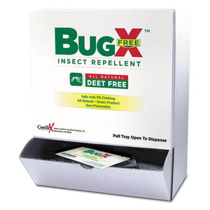 ESSUXCBFD010844BX - Insect Repellent Towelettes Box, Deet Free, 50-box