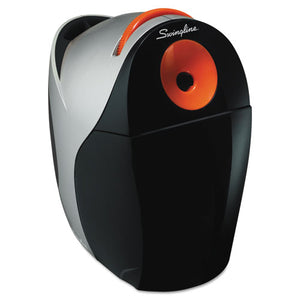 ESSWI29968 - Optima Electric Pencil Sharpener, Ac, Gray-orange